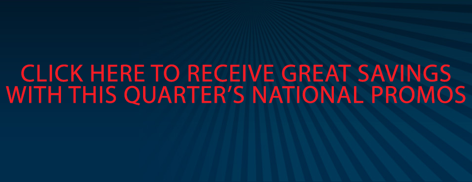 Quarterly National Promos